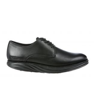 Men's Boston Black Nappa Oxfords 700916-03N Small