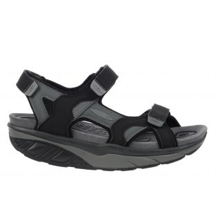 Men's Saka 6S Sport Black/Charcoal Gray Outdoor Sandals 700787-201L Small