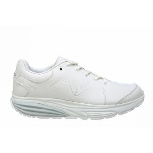 Men's Simba Trainer White/Silver Fitness Walking Sneakers 700860-409F Small
