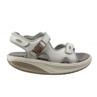 Women's Kisumu 3S White Sandals 700366-16 Small