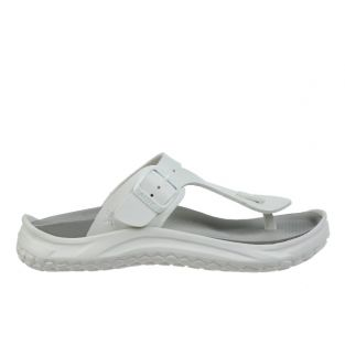 Women's Meru White Recovery Sandals 900004-16L Small