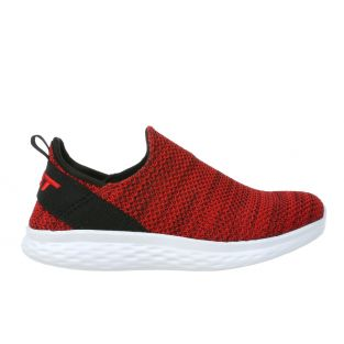 Women's Rome Red Walking Slip-Ons 702637-06M Small