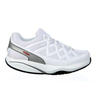 Women's Sport 3 White Fitness Walking Sneakers 400335-16 Small