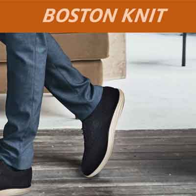 Boston Knit Wing Tips